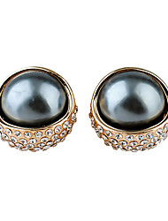 Party / Casual Alloy / Rhinestone / Imitation Pearl Stud Earrings
