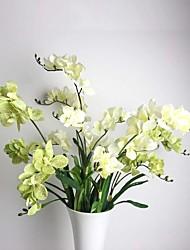 Une succursale Soie Orchidées Fleur de Table Fleurs artificielles 85(33.5'')