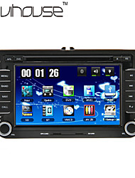 "7"" 2 Din Touch Screen LCD Car DVD Player For Volkswagen With Can-Bus,Bluetooth,GPS,iPod-Input,RDS,Radio,ATV"