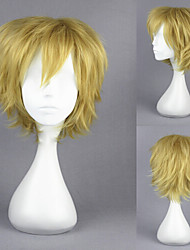 14inch Kagerou Project-Kano Syuya Light Yellow Short Anime Cosplay Wig