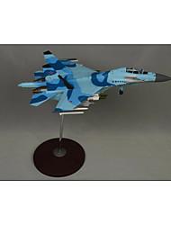 statique modèle de simulation militaire de SU30 modèle de chasseur 01:32