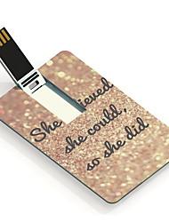 4gb ze geloven ontwerpen kaart usb flash drive
