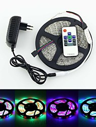 5M 300X3528 SMD RGB LED Strip Light and 10Key RF Controller and 3A AU Power Supply (AC110-240V)