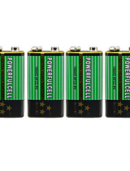 9v bateria alcalina (4pcs)