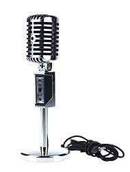 Micrófono con Clip - Alámbrico - Micrófono de Ordenador -