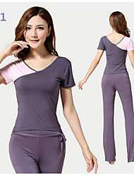 Yoga Clothes Suit 2015 Spring New Female Yoga Clothes Dance Clothes Fitness+10121