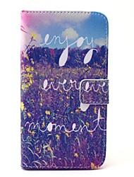 EFORCASE Enjoy the Moment Painted PU Phone Case for Galaxy S6 edge S6 S5 S4 S3 S5 mini S4 mini S3 mini