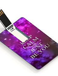 4GB Keep Calm and Just Be You Design Card USB Flash Drive
