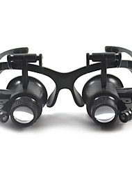 Binoculars / Magnifiers/Magnifier Glasses Generic / Headset/Eyewear 10X /20X 15mm Normal Plastic