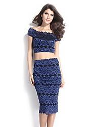 Women's Wrap Dress Suit(Vest & Skirt)