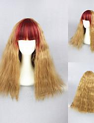 20inch bel colore parrucca lolita ricciolo misto