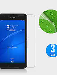 (3 pcs) Clear Screen Protector Film for Sony Xperia E4g