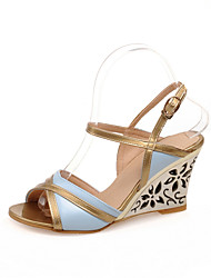 Women's Shoes Wedge Heel Peep Toe Sandals Shoes Dress More Colors available