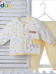 Ajiduo Newborn Baby Boys Girls Cute 2 Piece Clothing Set Infant Pure Cotton Outfits