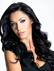 Women Lace Front Wig 10inch~24inch India Hair Color(Black Brown #1 #1B #2 #4) Body Wave Hair