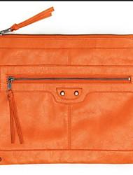 Women Casual PU Zipper Clutches
