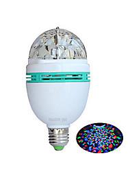 1 pcs ding yao E27 3W 3X 500LM 2800-3500/6000-6500K RGB Rotatable Globe Bulbs AC 220V