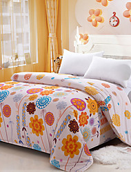 Yuxin® Cream Color Duvet Cover Fashion Comfortable Flower Printed Full/Queen/King Size