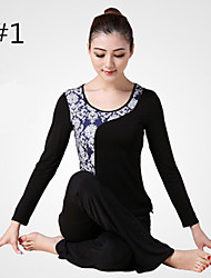 Yoga Clothes Suit 2015 Spring New Female Yoga Clothes Dance Clothes Fitness+10124