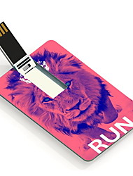 64GB The Lion Design Card USB Flash Drive