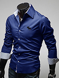 Men's Fashion Long Sleeve Shirt
