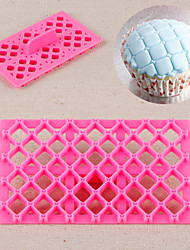Schmetterlingsbogen Bowknot Quilt Fondant Quadratschneider Gitterkuchen Cupcake Prägewerkzeug Präge