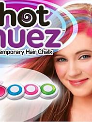 4 вида цвета легко очистить временные волос мел (4 пс-в 1 комплект)