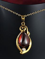 plateado más caliente de oro de moda collar con ópalo más vendido collar