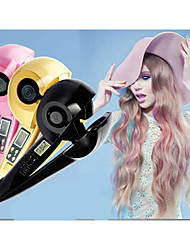 Pro Professional Salon Perfect Titanium Automatic Magic electric LCD Curler Hair Curls Curling Iron
