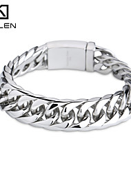 Kalen 2015 Men's Jewelry Fashion Shiny Gothic Bracelet