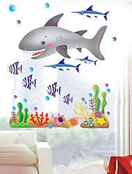 stickers muraux stickers muraux, stickers muraux requin pvc