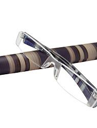 [Lentilles libres] rectangle rim-moins des lunettes de lecture