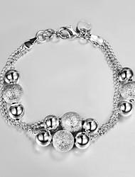 2015 New Design 925 Silver little beads design Bracelet Bracelets for Women