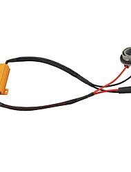 Auto 1156 Sockel geführt Fehler Warnung Canceller mit 50W 8 Ohm-Widerstand