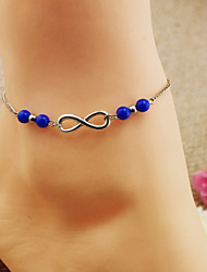 Fashion Blue Yakeli Anklets