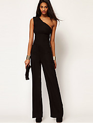 Mson Womenmen's Newest Sexy One Shoulder Jumpsuit