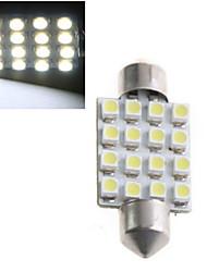 1.5W H1 Декоративное освещение 16 Высокомощный LED 1000 lm Холодный белый Декоративная DC 12 / DC 24 V 1 шт.