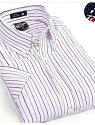 U&Shark Casual&Dress Men's 100% Fine Cotton Short Sleeve Shirt  by American Wahsing/DCSX-009