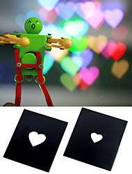 Bokeh Masters Kit by DIY Photography Unique Special Effects System Heart-Shaped Pack Of 2pcs