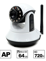 Besteye® HD720P H.264 P2P WIFI Camera IP 1.0M Pixels PTZ IR Night Vision Wired/Wirless 64GB TF Card
