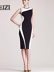 BAOTU®Women of color matching cultivate one's morality package buttocks OL Dress pencil skirt