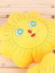 Dogs Toys Chew Toy / Plush Toy Durable Textile Yellow