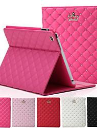 coroa losango couro diamante tampa da caixa representam ar Apple iPad (cores sortidas)
