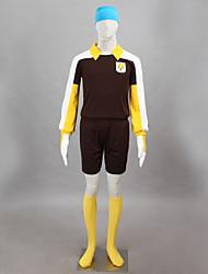 Cosplay Middle School Sports Soccer Uniform  Ray Door Costumes