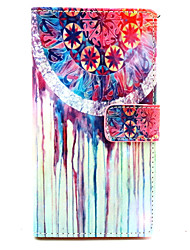 For Nokia Case Card Holder / Wallet / with Stand Case Full Body Case Dream Catcher Hard PU Leather Nokia Nokia Lumia 830