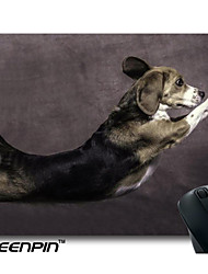 SEENPIN Personalized Mouse Pads Dogs Jumping Design