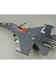 statique modèle de simulation militaire de la Chine j-16 modèle de chasseur 01:32