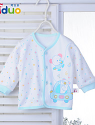 Ajiduo Unisex Newborn Baby Boy Girl Pure Cotton Clothes Long Sleeve Infant Clothing