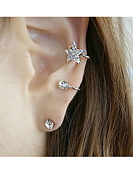Women's Earrings with Rhinestone