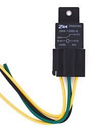 40a puissance de la voiture éteint relais pour gps et circuit